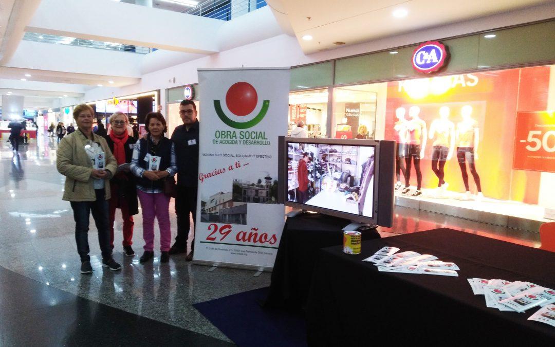 """Campaña Solidaria Centro Comercial """"El Muelle"""""""