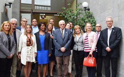 La Obra Social recibe la visita del Cuerpo Consular de Las Palmas