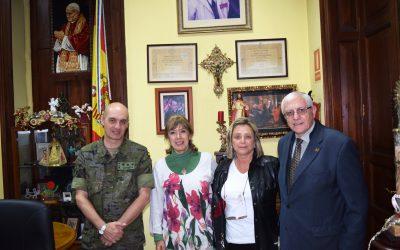 Recibimos la visita del Coronel Jefe del Regimiento de Artillería Antiaérea Nº 49