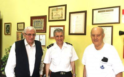 Nos visita el Director de Museo Naval de Canarias