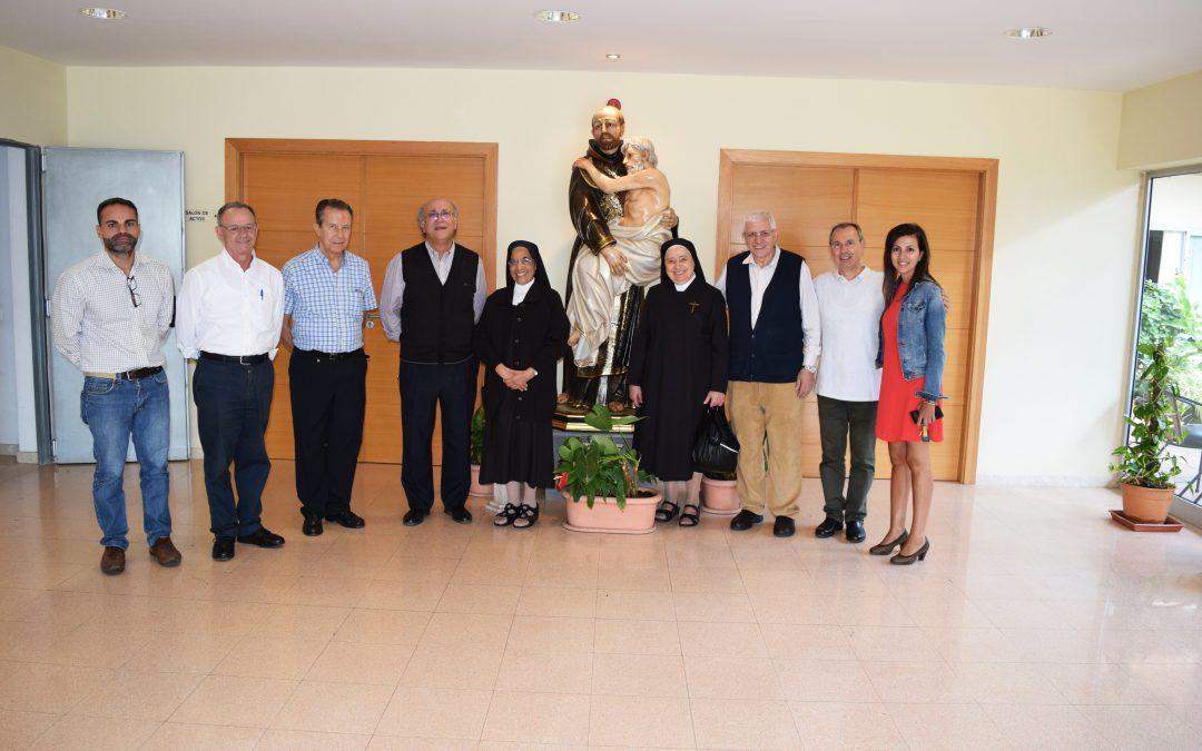 Recibimos la visita de una Delegación de Hnos. de San Juan de Dios y de Hnas. Carmelitas