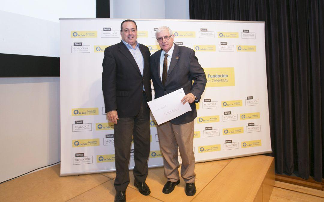 Firma de Convenio de colaboración con la Fundación La Caja de Canarias y Bankia