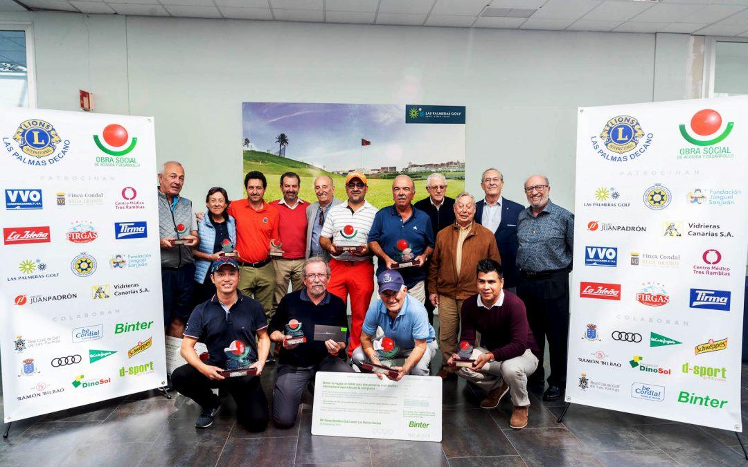 VIII Torneo de Golf Club de Leones