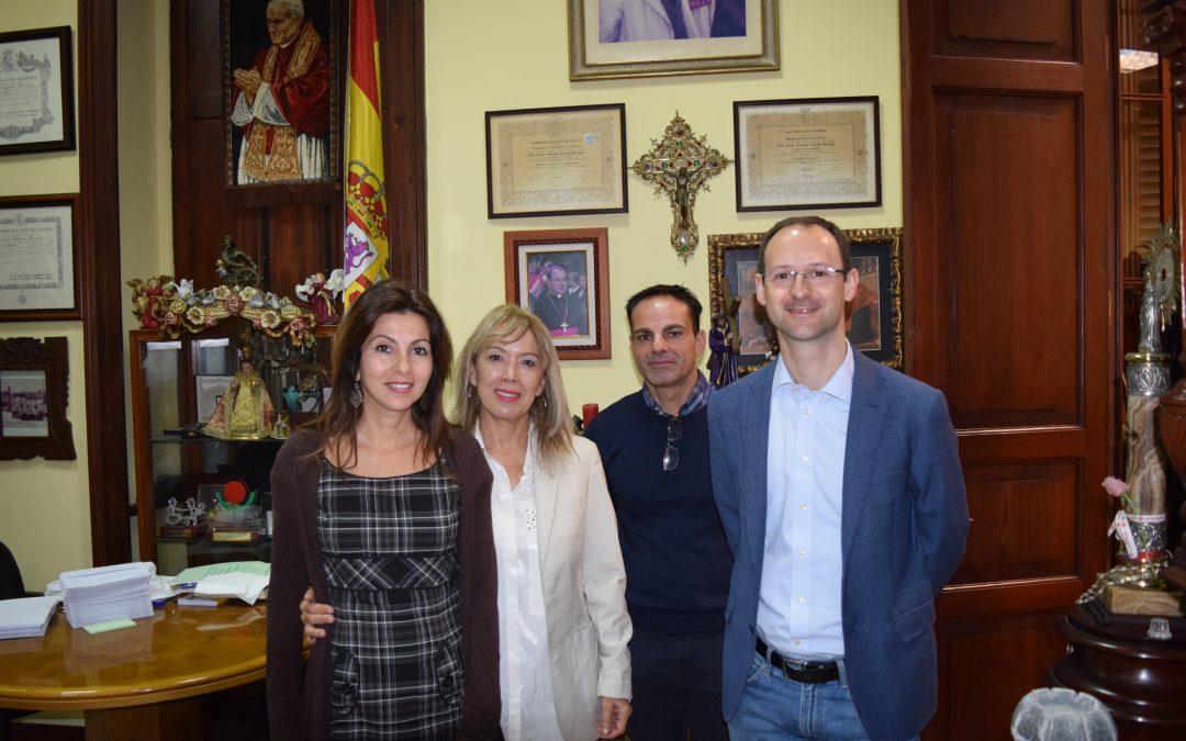 Nos visita Carlos Galasso, responsable de la oficina en Bruselas de la Orden Hospitalaria