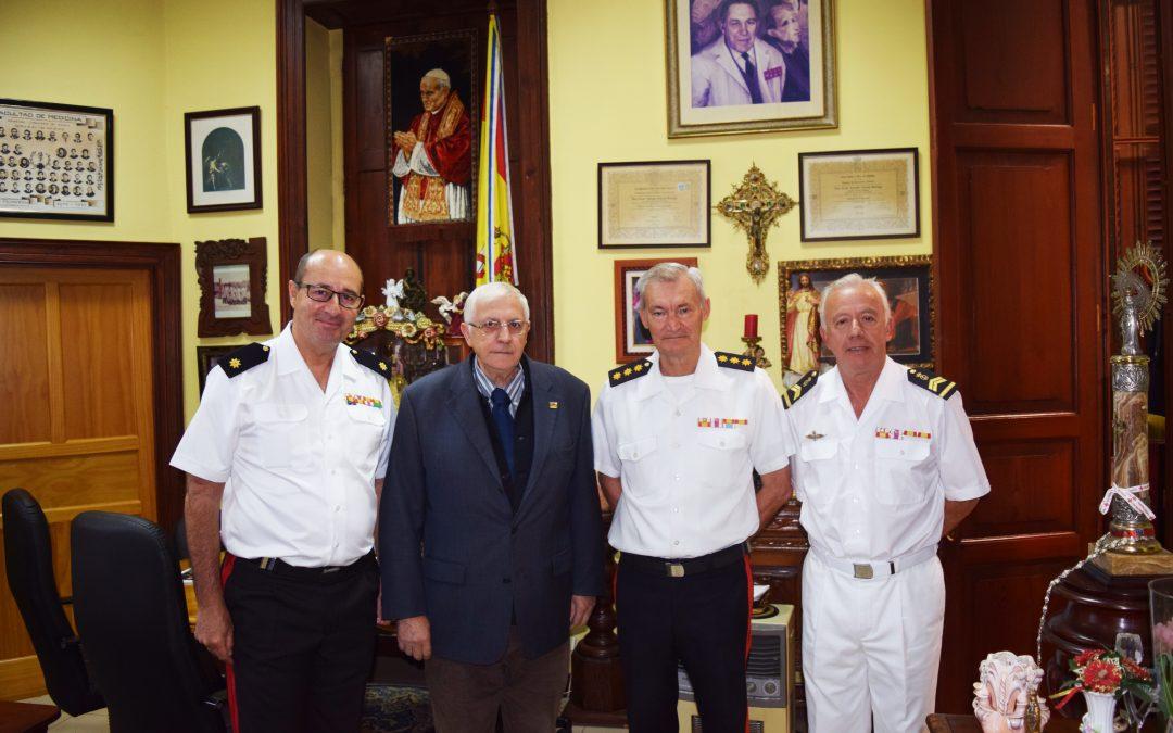 Visita del Coronel D. Francisco Jesús Buhigas Juanatey