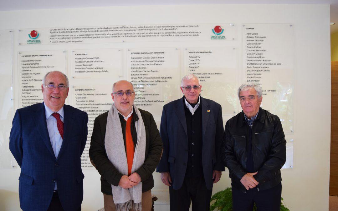 Nos visita el Presidente del Cabildo de Gran Canaria