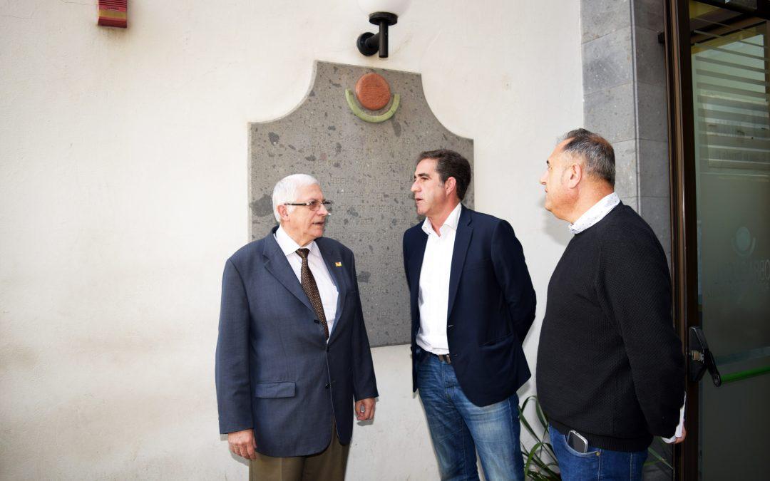 Visita del Viceconsejero de Políticas Sociales y Vivienda del Gobierno de Canarias
