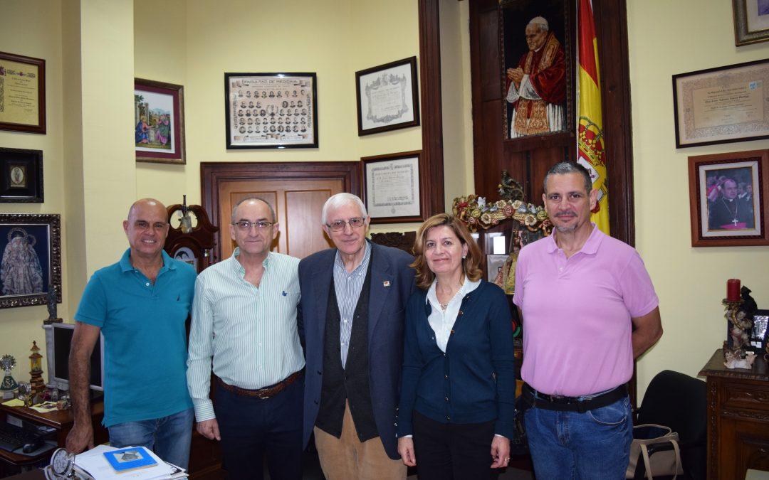 Visita del General Martín Cabrero
