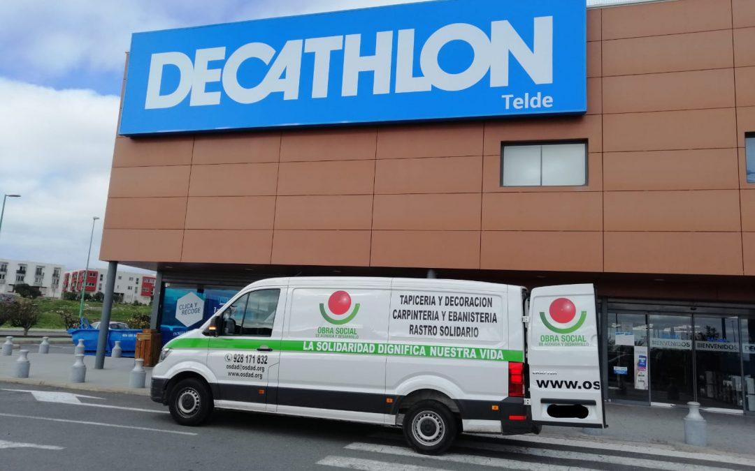 Comienza la colaboración con Decathlon