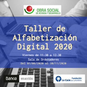 Proyecto de Alfabetización Digital Fundacion La Caja de Canarias-Bankia