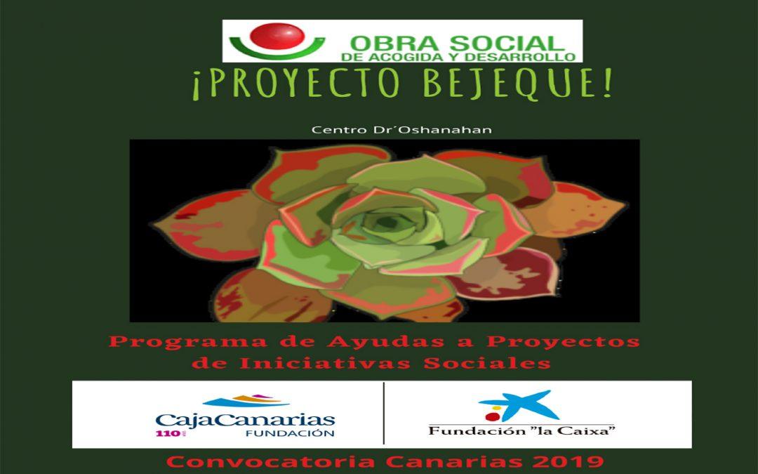 Proyecto Bejeque Fundación La Caixa y Fundación CajaCanarias