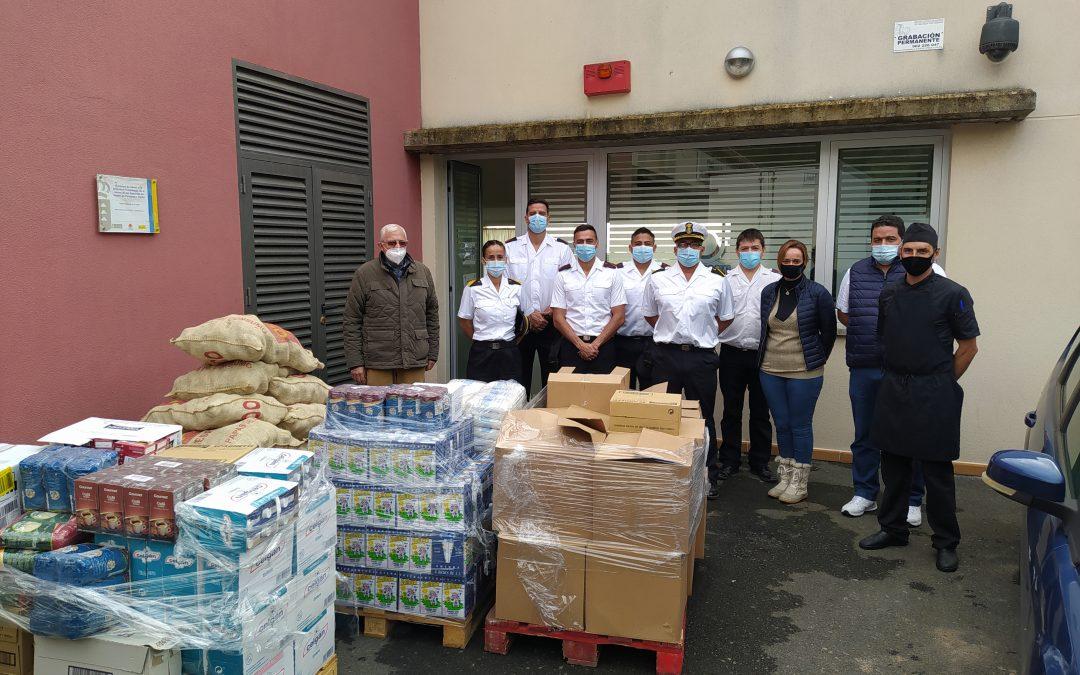 Donación de alimentos Arsenal de Las Palmas