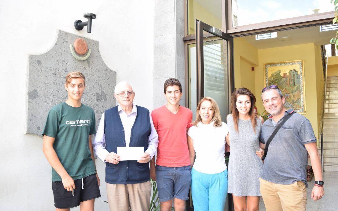 Donación Colegio Heidelberg
