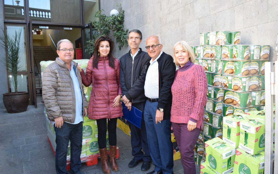 Donación de alimentos Comunidad Hindú