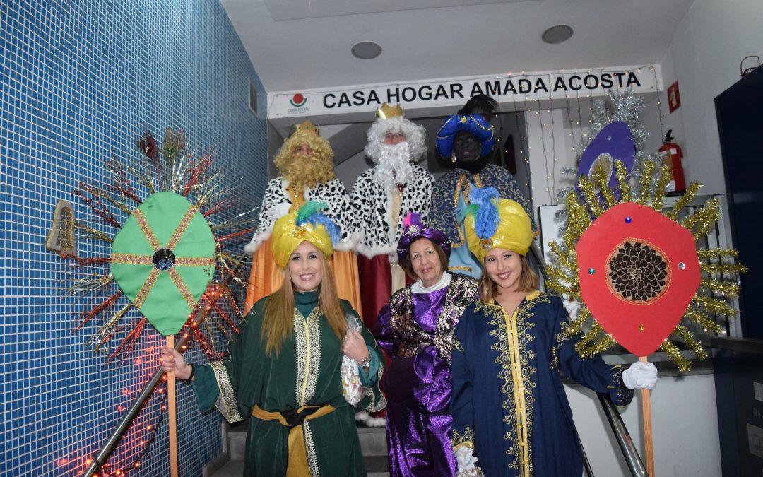 Los Reyes Magos llegan a la Obra Social