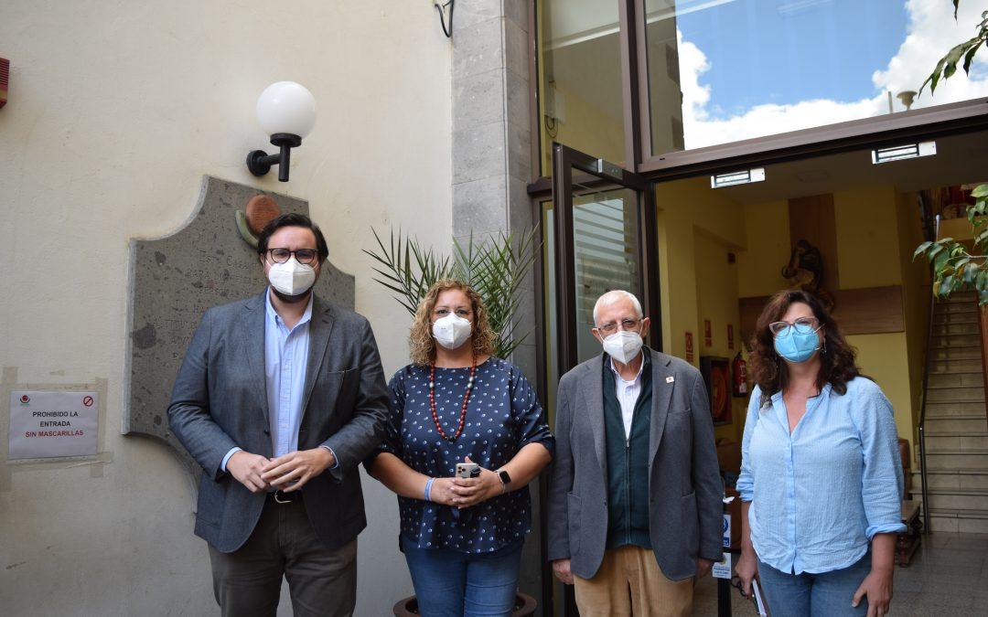 Nos visita representantes del Partido Popular