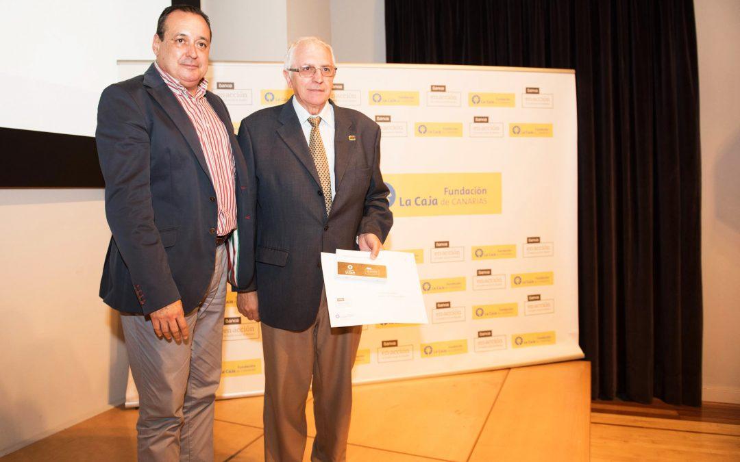 Firma de Convenio con la Fundación La Caja de Canarias y Bankia