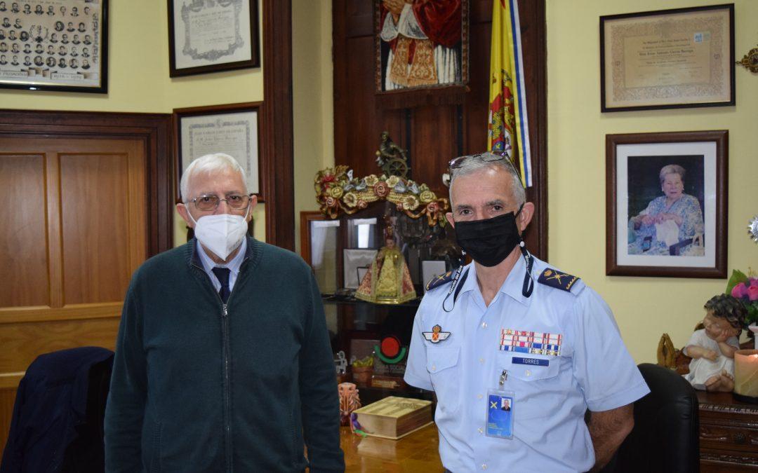 El Segundo General Jefe del MACAN visita la Obra Social