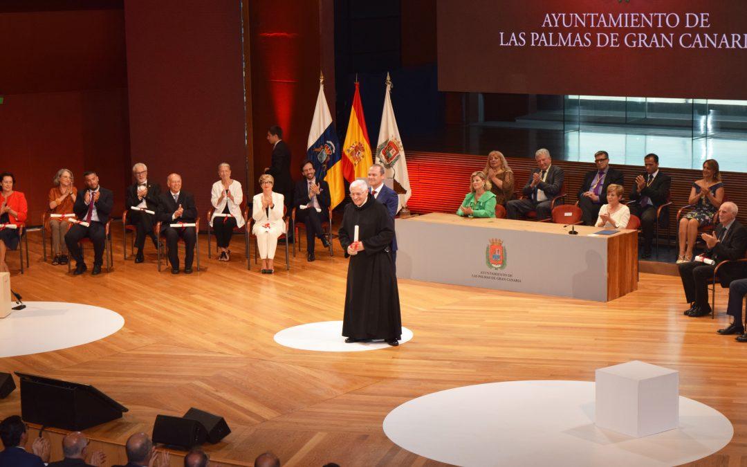 Hno. Jesús García Barriga, Hijo Adoptivo de Las Palmas de G.C.