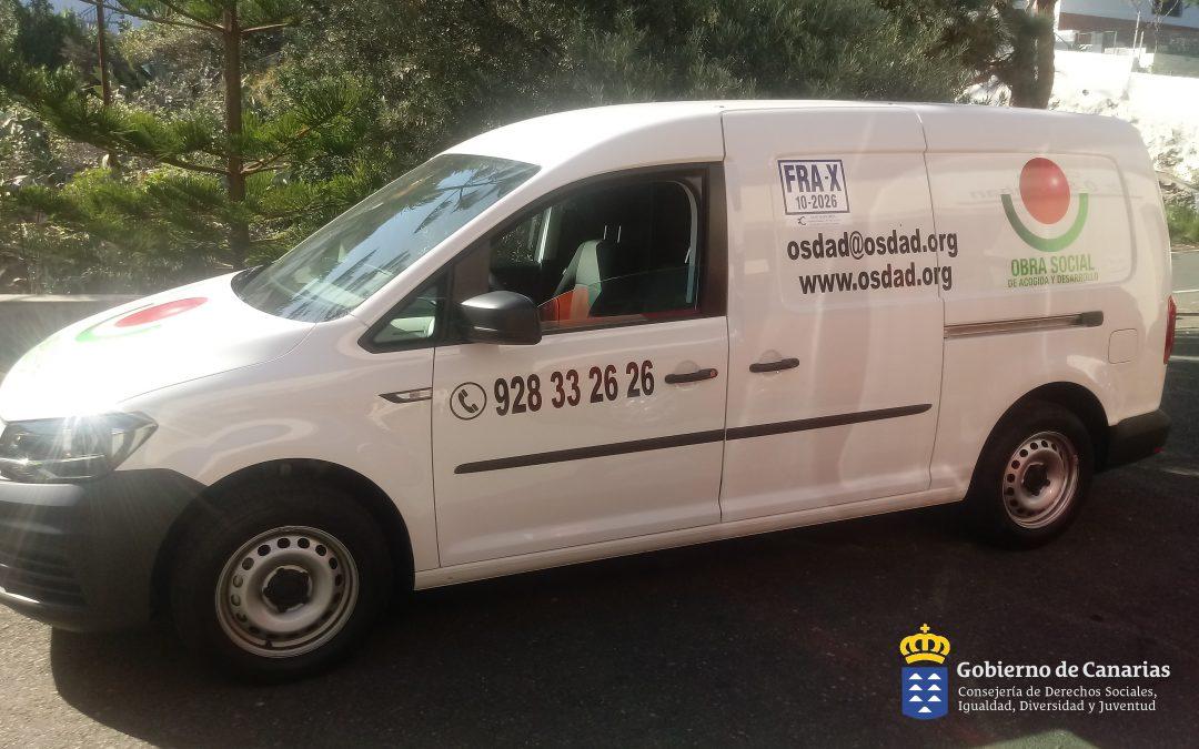 Proyecto Sirviendo Ilusiones. Cons. Derechos Sociales del Gobierno de Canarias