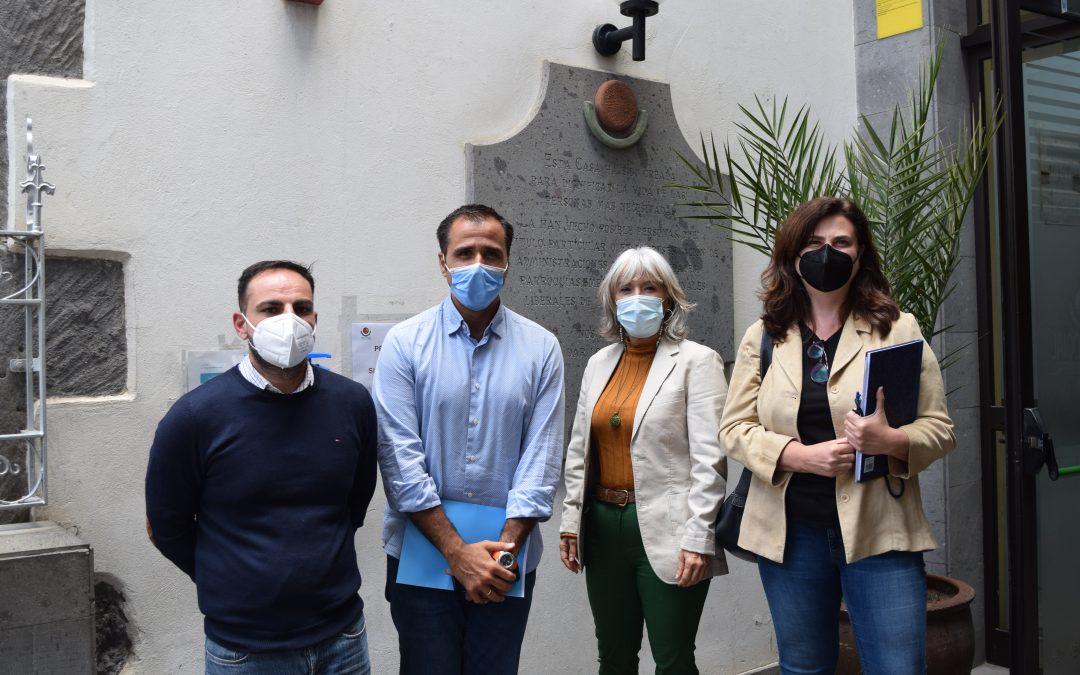 Visita la Obra Social Concejales del Ayuntamiento de Las Palmas de G.C.