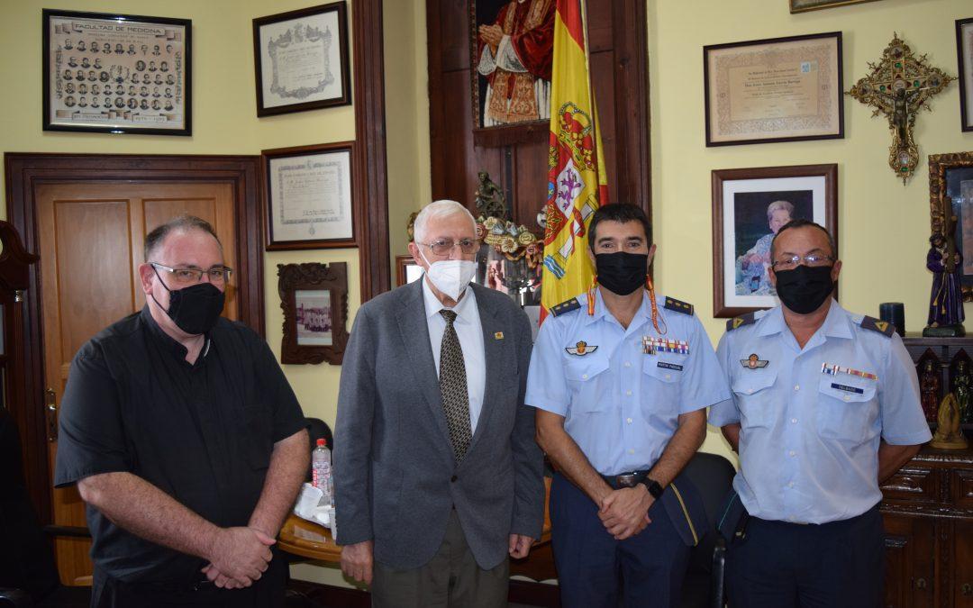 Visita del Coronel D. Fernando Martín Pascual