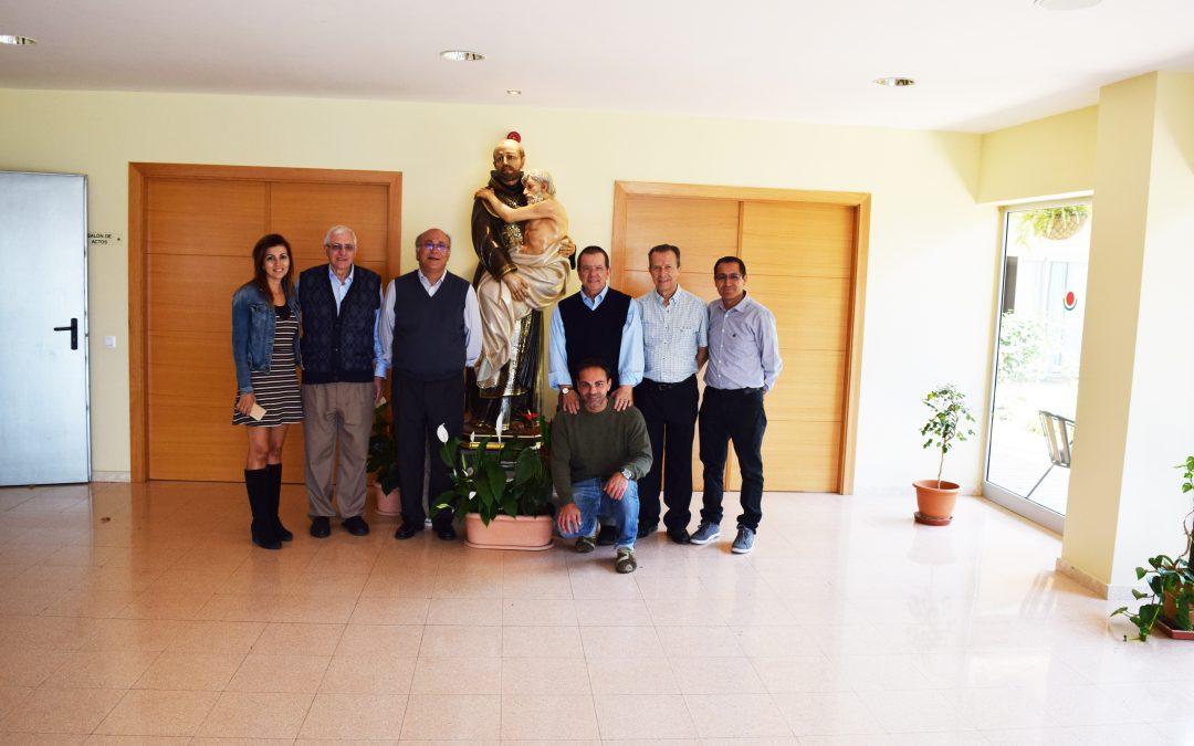 Visita del Provincial de San Juan de Dios