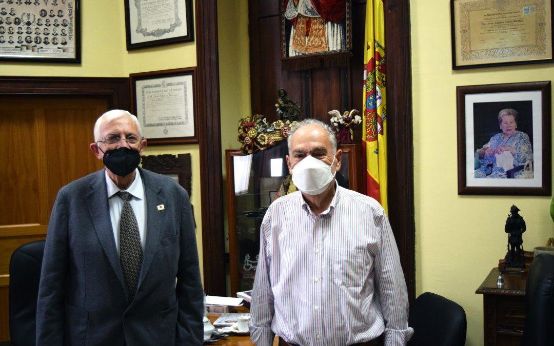 Visita del Director de Cáritas Diocesana de Canarias