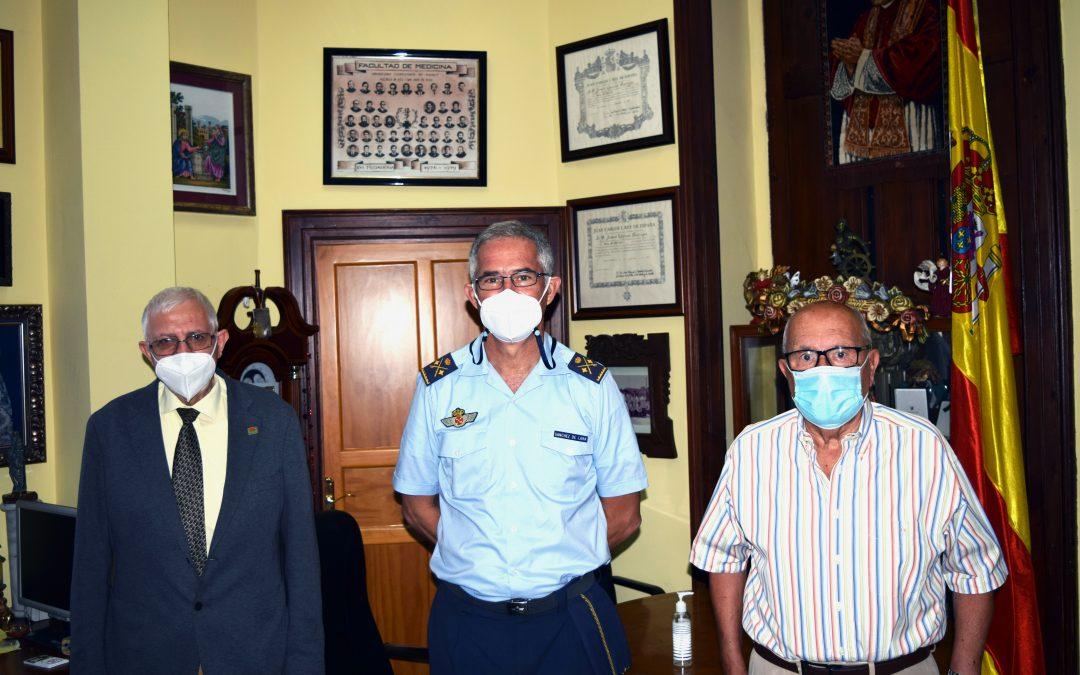Nos visita el General Jefe del Mando Aéreo de Canarias