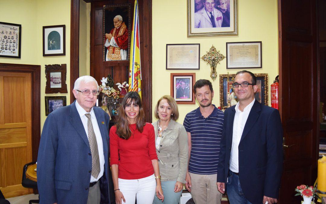 Visita del Gerente de la Orquesta Filarmónica de Gran Canaria