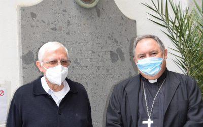 Visita de nuestro Obispo, Mons. José Mazuelo Pérez