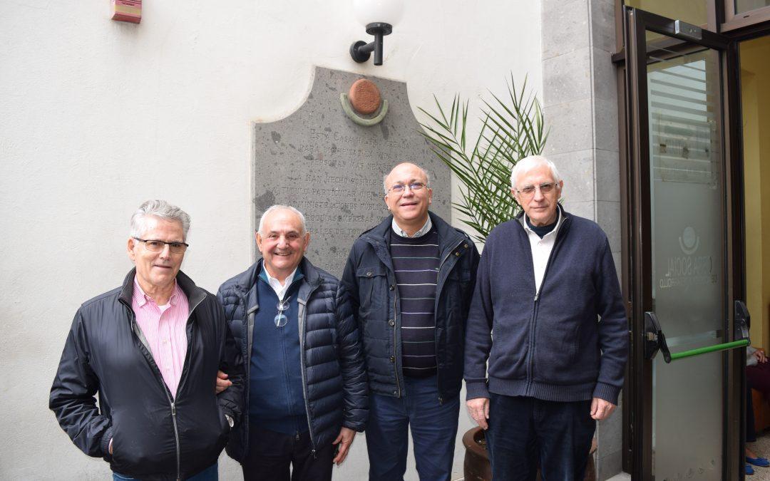 Visita del Provincial y Hermanos de Granada